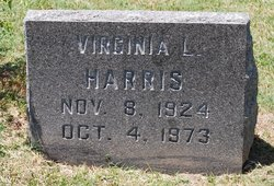 Virginia Lucille <i>Bowden</i> Harris