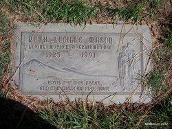 Ruth Lucille <i>Webb</i> Mason