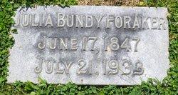 Julia Ann Paine <i>Bundy</i> Foraker