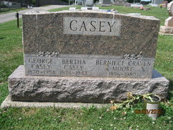 Bertha E <i>Merritt</i> Casey