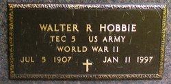 Walter Richard Hobbie