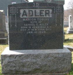 Marion I. <i>Tobias</i> Adler