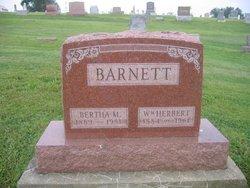 Bertha Mary <i>Silver</i> Barnett