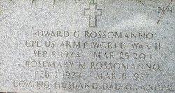 Rosemary M <i>Scarpelli</i> Rossomanno