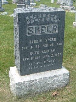 Ruth Marian Speer