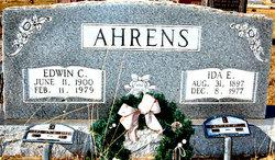 Edwin C Ahrens