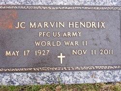 PFC J.C. Marvin Hendrix