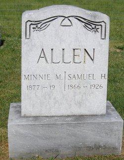 Minnie M. <i>Schaaf</i> Allen