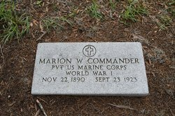Pvt Marion W. Commander