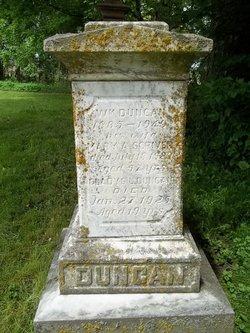Mary A <i>Scriver</i> Duncan