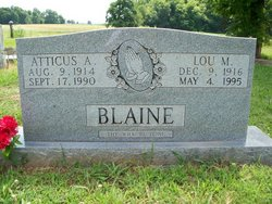 Atticus A Blaine