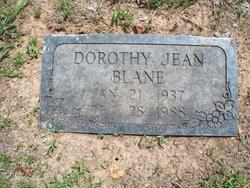 Dorothy Jean Blane
