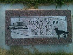 Nancy Ann <i>Webb</i> Barnes