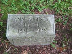 Anna Augusta <i>Requa</i> Hatch