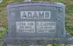 Lena Ann <i>Burns</i> Adams