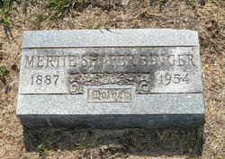 Mertie <i>Binger</i> Shafer