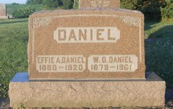 Effie A Daniel