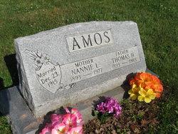 Nannie(Nancy) L(Loretta) <i>Yoho</i> Amos