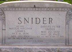 Margaret Virginia Maggie <i>Ijames</i> Snider