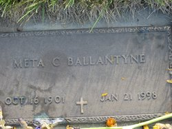 Meta C Ballantyne
