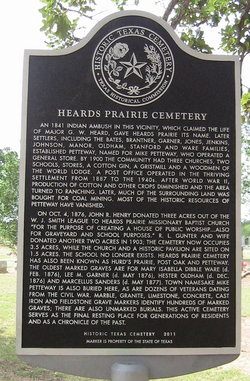 Heards Prairie-Petteway Cemetery