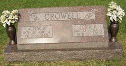 Josie B <i>Hoback</i> Crowell