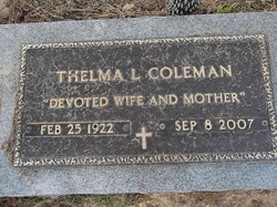 Thelma Louise <i>Head</i> Coleman