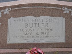 Verdia <i>Hunt</i> Butler