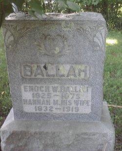 Enoch W Ballah