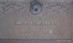 Edna Marie <i>Jones</i> Allyn