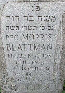 PFC Morris Blattman