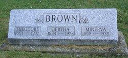 Minerva Ann <i>Pearson</i> Brown