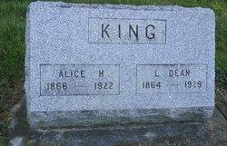 Alice H <i>Peebles</i> King
