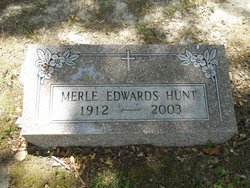 Merle <i>Edwards</i> Hunt