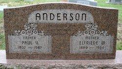 Elfriede <i>Wiruschewski</i> Anderson