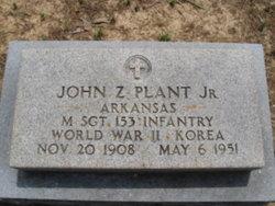 John Zeno Plant, Jr