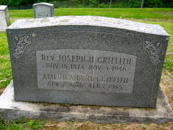 Rev Joseph H. Griffith