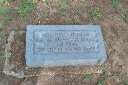 Ada R <i>Reed</i> Hemler