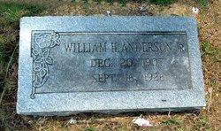 William H. Anderson, Jr