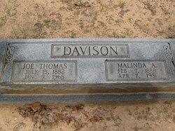 Joseph Thomas Joe Davison