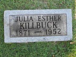 Julia Esther Killbuck