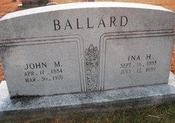 Ina <i>Homesley</i> Ballard