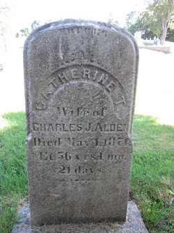 Catherine T <i>Worcester</i> Alden