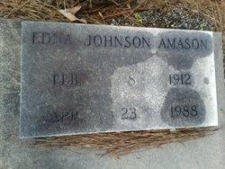 Edna <i>Johnson</i> Amason