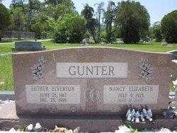 Nancy Elizabeth <i>Durden</i> Gunter