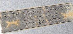 Ruth <i>Griner</i> Bennett