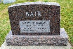 Mary Ida <i>Whigham</i> Bair