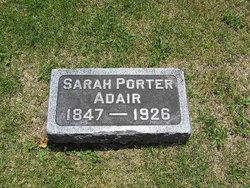 Sarah Jennings Mary <i>Porter</i> Adair