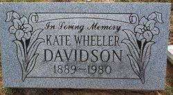 Kate <i>Perryman</i> Davidson