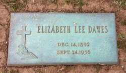 Elizabeth Lee Lizzie Dawes